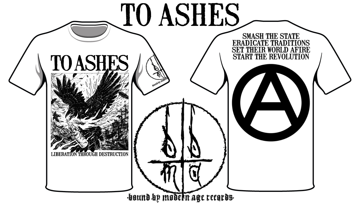 to ashes shirt
