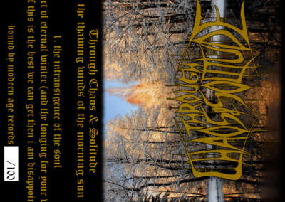 BBMA34 – Through Chaos & Solitude – The Thawing Winds Of The Morning Sun MC
