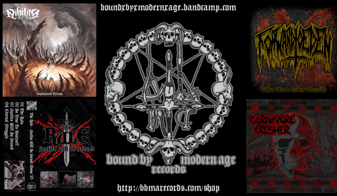 New Pre-Orders available (and more to come): The best of Germany's & UK's 90's Metal and Hardcore!
