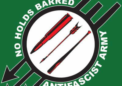 BBMA57 – No Holds Barred – Anti-Fascist Army 7″