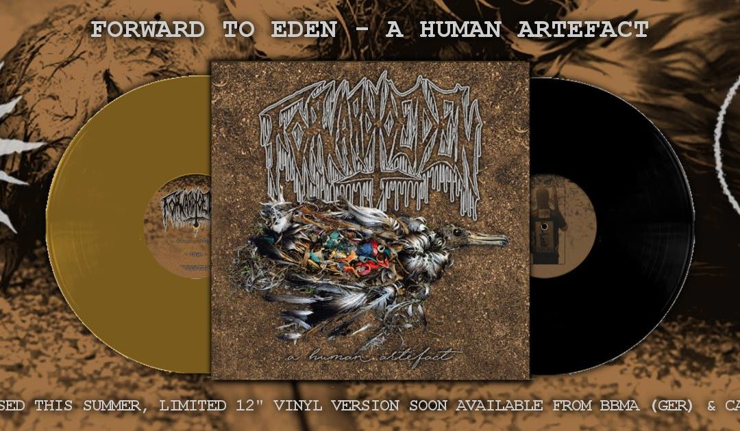 """Debut 12″ LP by the notorious xvx project Forward To Eden """"A Human Artefact"""" is now up for pre-order!"""