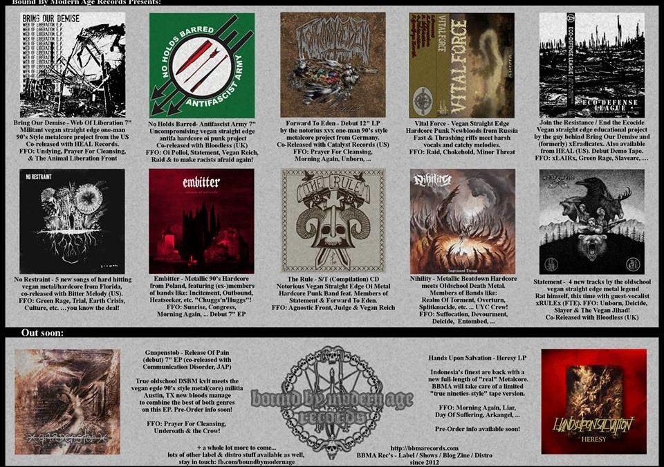 Pre-Order Massacre: xGnapenstobx / Hands Upon Salvation / Seek Nothing & The BBMA Mixtape #2