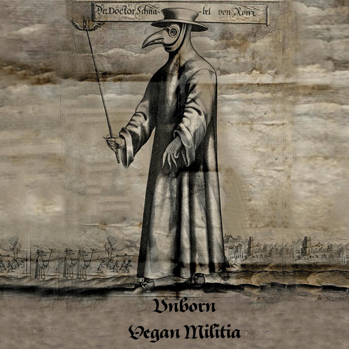 unborn__vegan_militia_split_cover