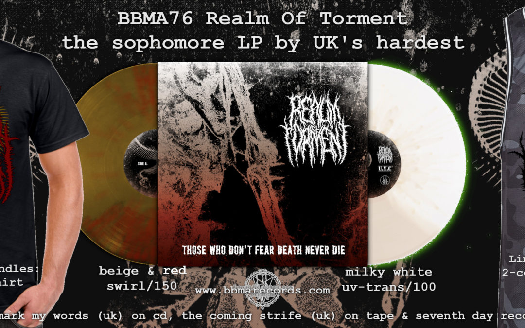 Metalcore Militia 2000 A.D. – the long awaited Realm Of Torment sophomore LP is now up for Pre-Order!